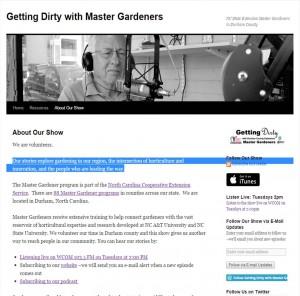 Cover photo for North Carolina Master Gardeners Blaze a Virtual Trail