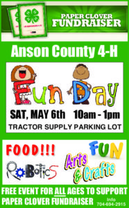 Cover photo for Anson County 4-H Fun Day!