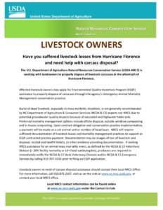 Cover photo for Assistance for Livestock Owners