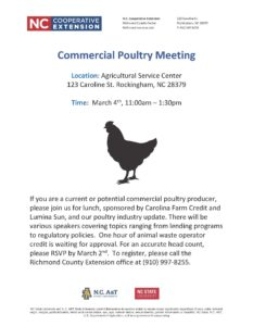 Poultry Meeting