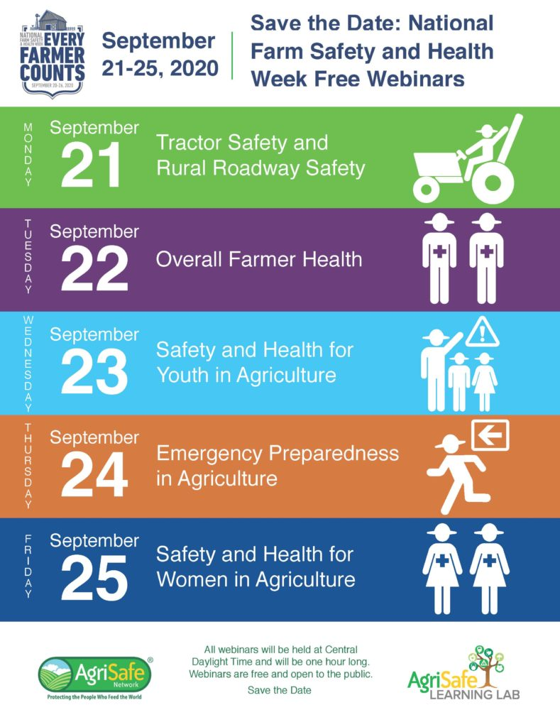 Save the Date Farm Safety Week
