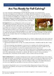 Livestock newsletter page 2