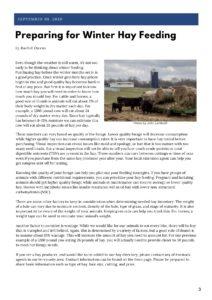 Livestock newsletter page 3